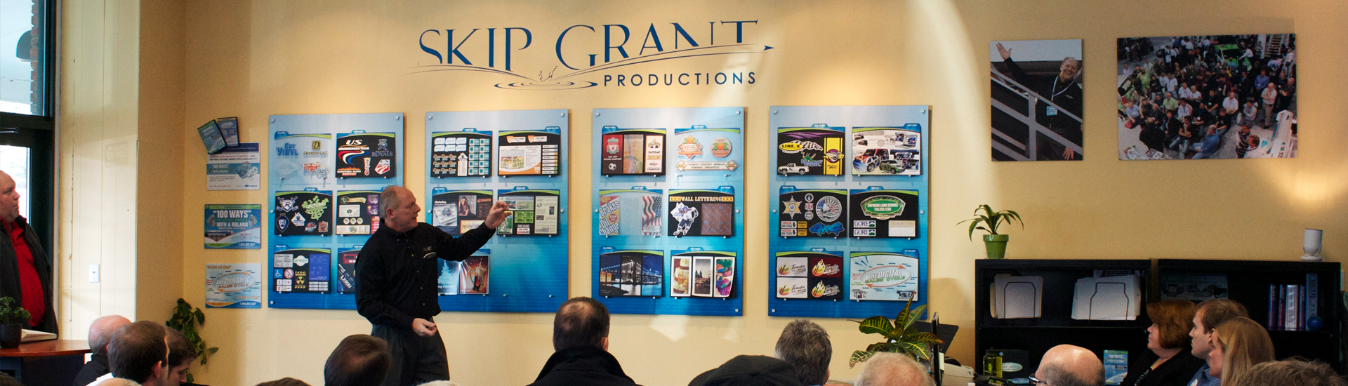 Skip Grant Productions | Mimaki | Roland | 100 ways